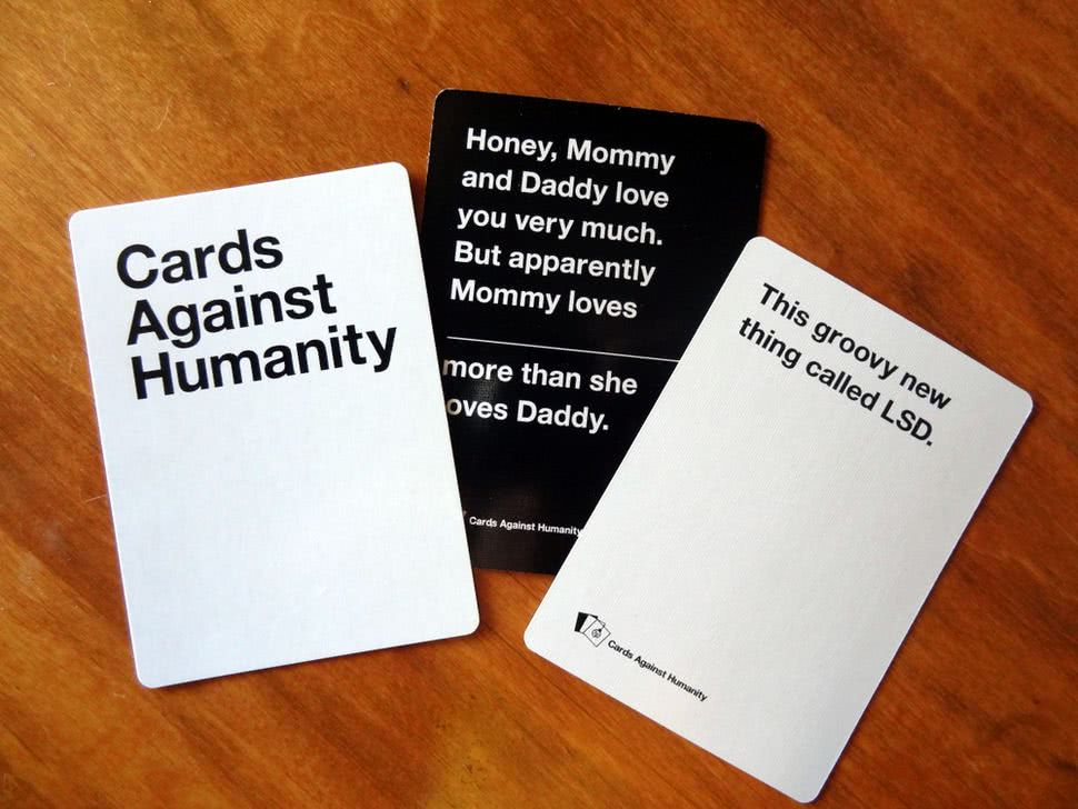 Cards against humanity cards - Bachelorette Party Activities for the Budget Bride