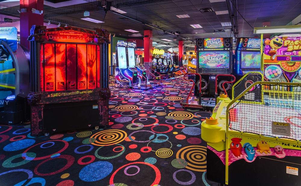 Arcade interior - Bachelorette Party Activities for the Casual  Bride