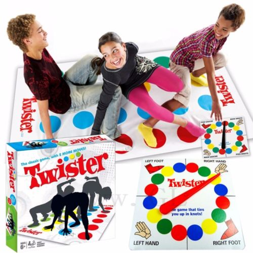 People playing twister - Bachelorette Party Activities for the Active Bride