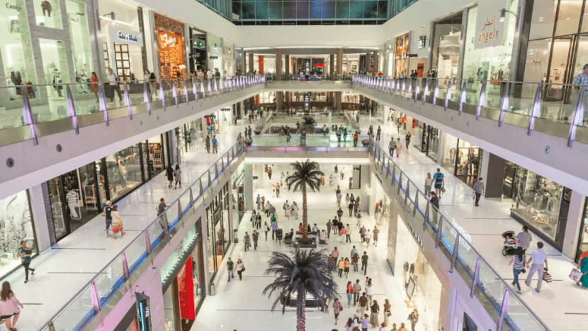 Photo of busy Dubai Mall - Bachelorette Party Activities for the Break the Bank Bride