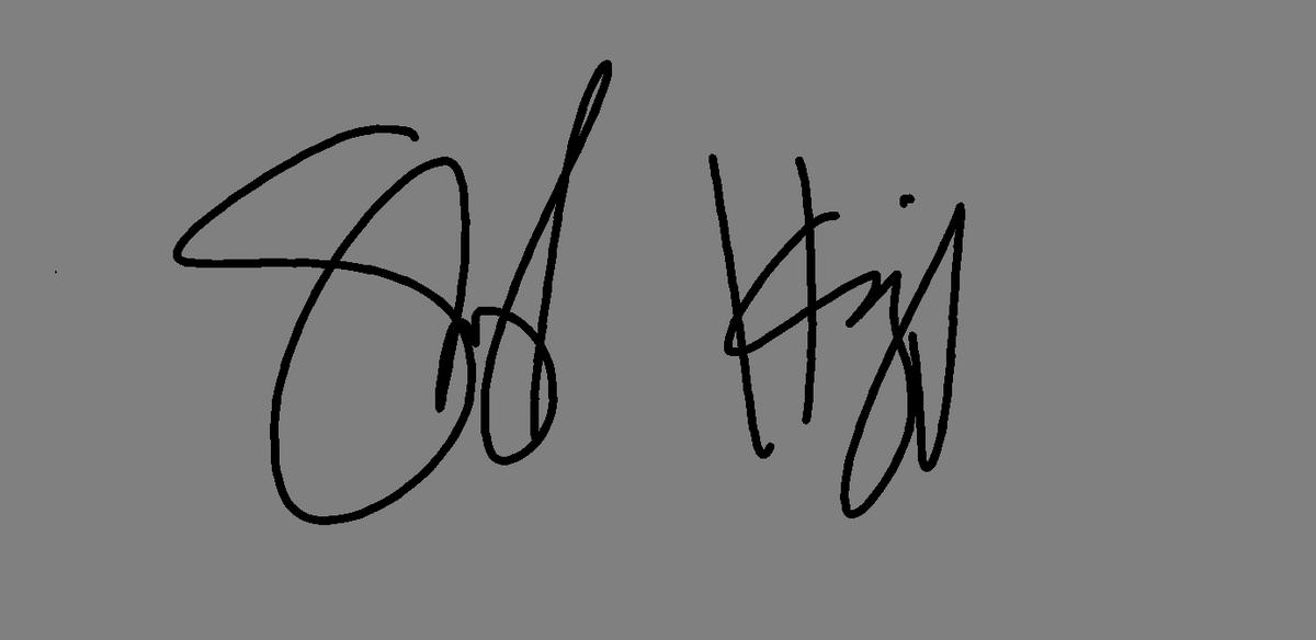 Signature of Sherrie - Fairy Hen mother