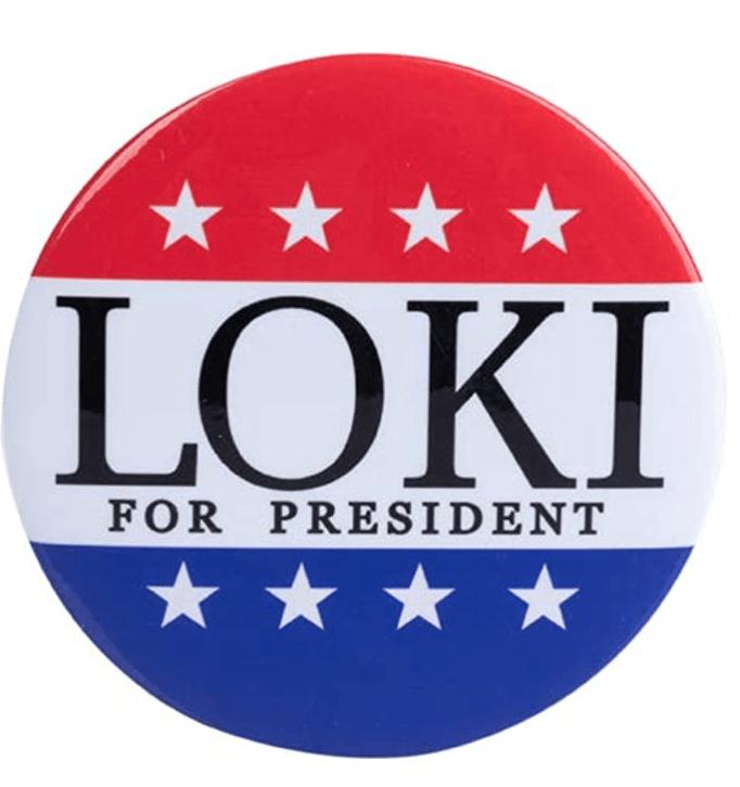 Vote Loki Badge - Ideas for a Loki Themed Hen weekend