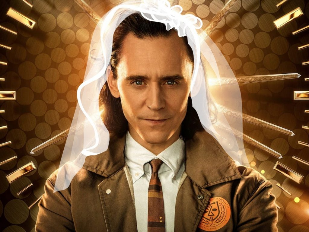 Loki wearing a veil - Ideas for a Loki themed Hen Weekend Hen Party Ideas