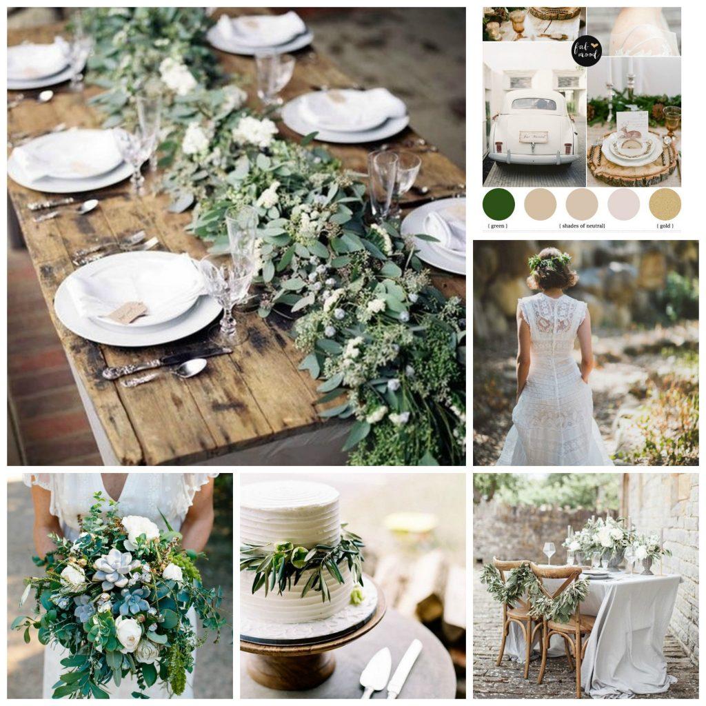 A floral and botanical wedding mood board - Ideas for a Loki Themed Hen weekend - Wedding Mood Boards